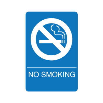 IS1010 – No Smoking Workplace Sign