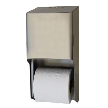 RD0325 – Metal Two Roll Standard Tissue Dispenser