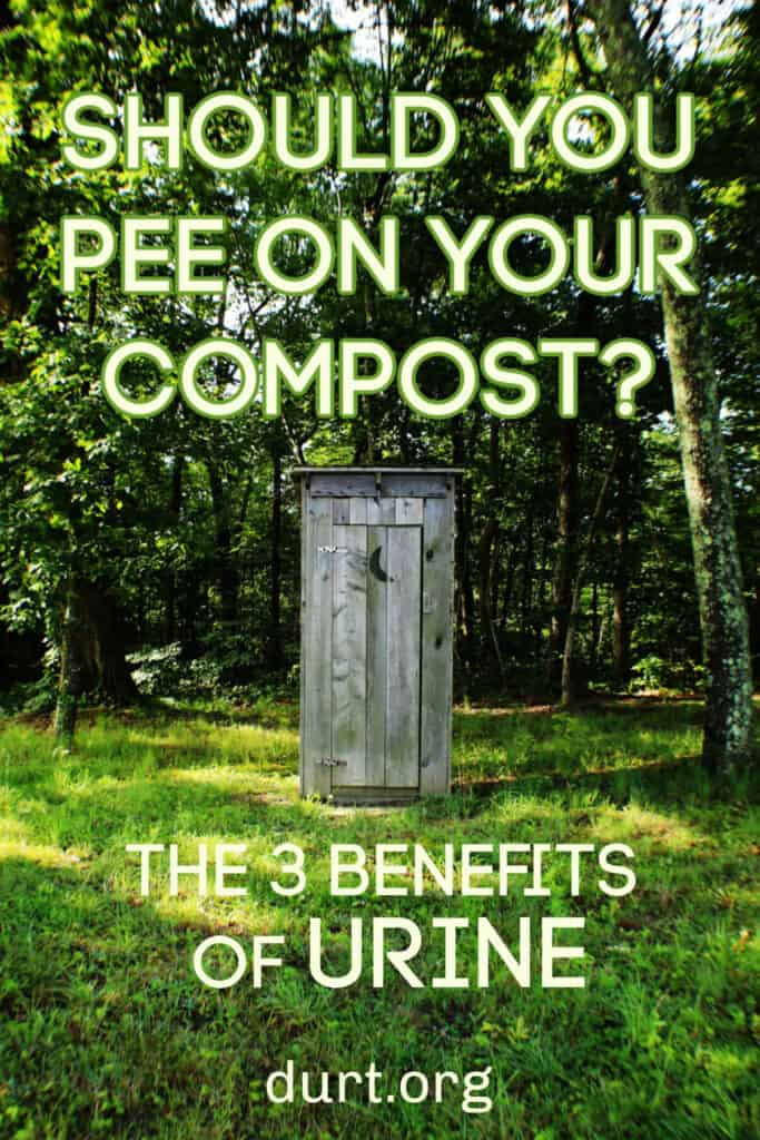 benefits of peeing on your compost