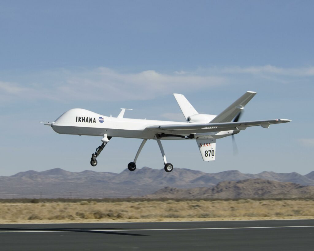 Photo of large drone