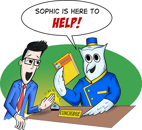 Sophic is here to help!