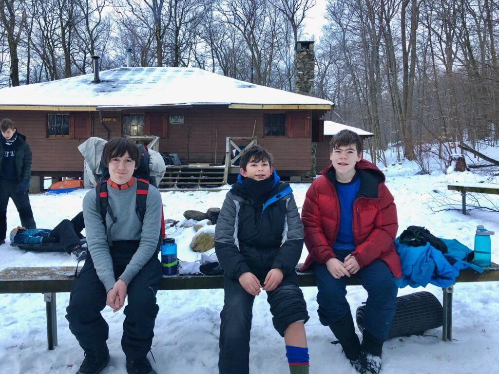 Troop 12 at Glen Gray