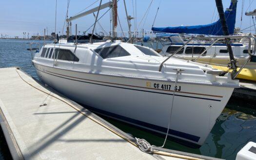 1998 Hunter 260 Sailboat For Sale In Oxnard 818-216-8960