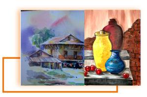 Painting Various media