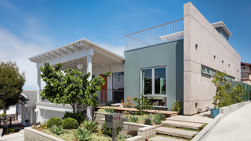 Open Inviting · Mid Century California · Hermosa Beach Renovation LMD Architecture