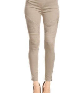 Moto Ankle Jeans in Tan colour found at Bright-Eyed & Beautiful fashion boutique