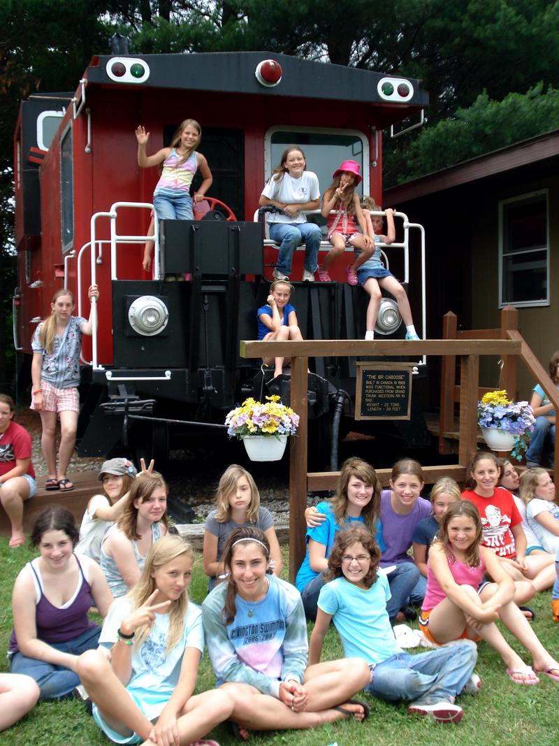 BR Girls on train