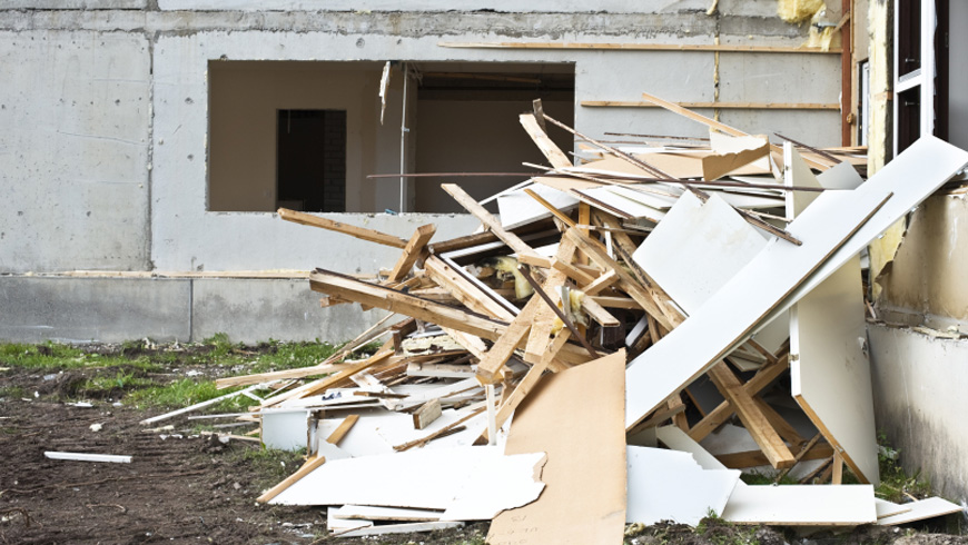 Construction Material Removal