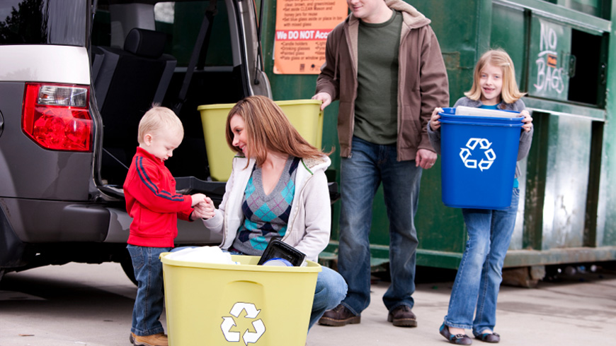 Spring Cleanout and Recycling