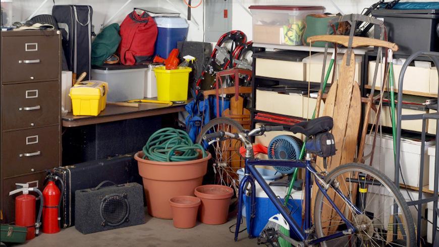 Basement Cleanout Dumpster