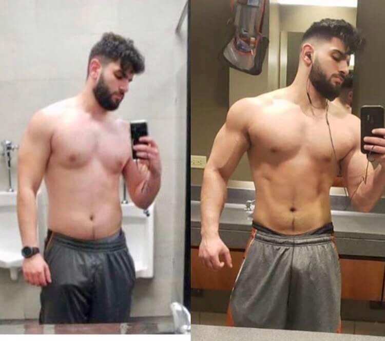 Mohamad abuabood weight loss transformation photo stoopidfit online coaching