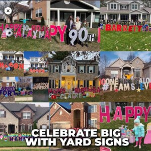 Shop Affordable Yard Signs   Large Custom Yard Signs and Lawn Signs