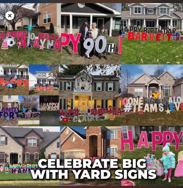 Shop Affordable Yard Signs | Large Custom Yard Signs and Lawn Signs