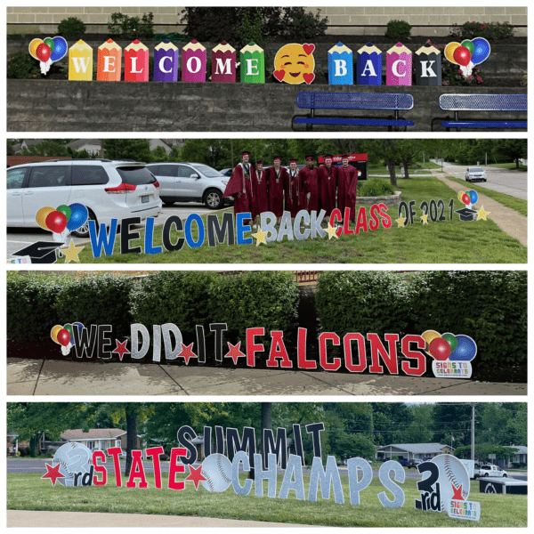 School Yard Sign