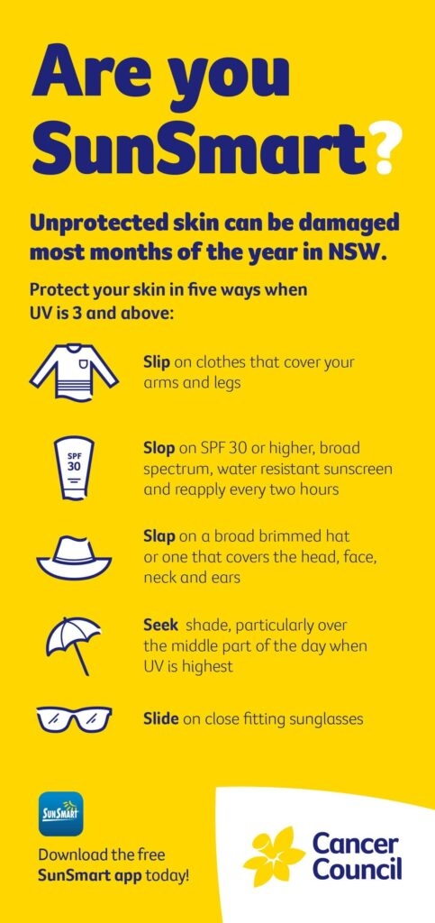 Are you sunsmart image by cancer council