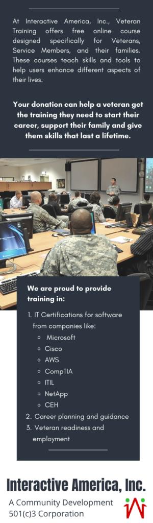training donation information
