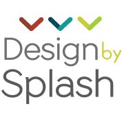 design splash logo square