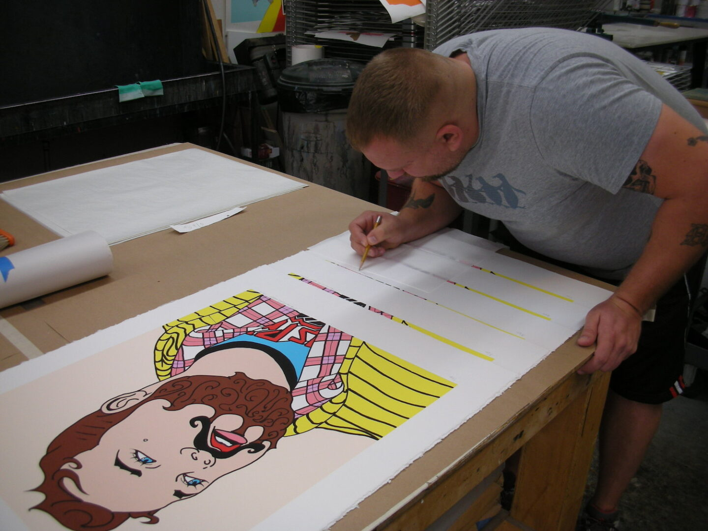 Artist: James Gobel signs prints