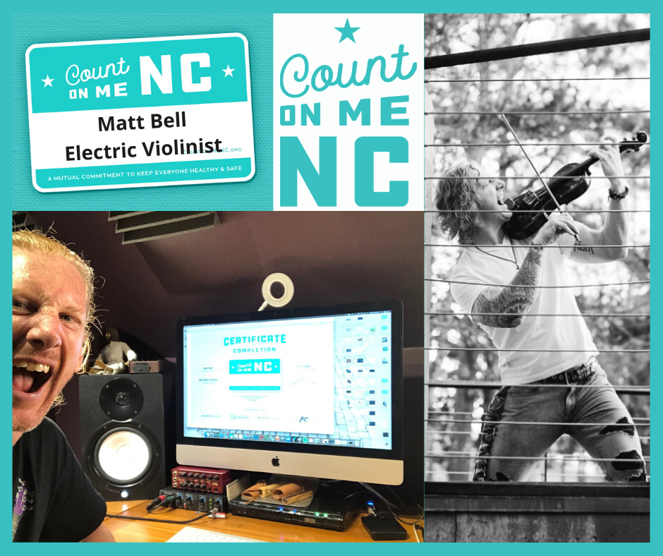 Matt Bell Count on me NC