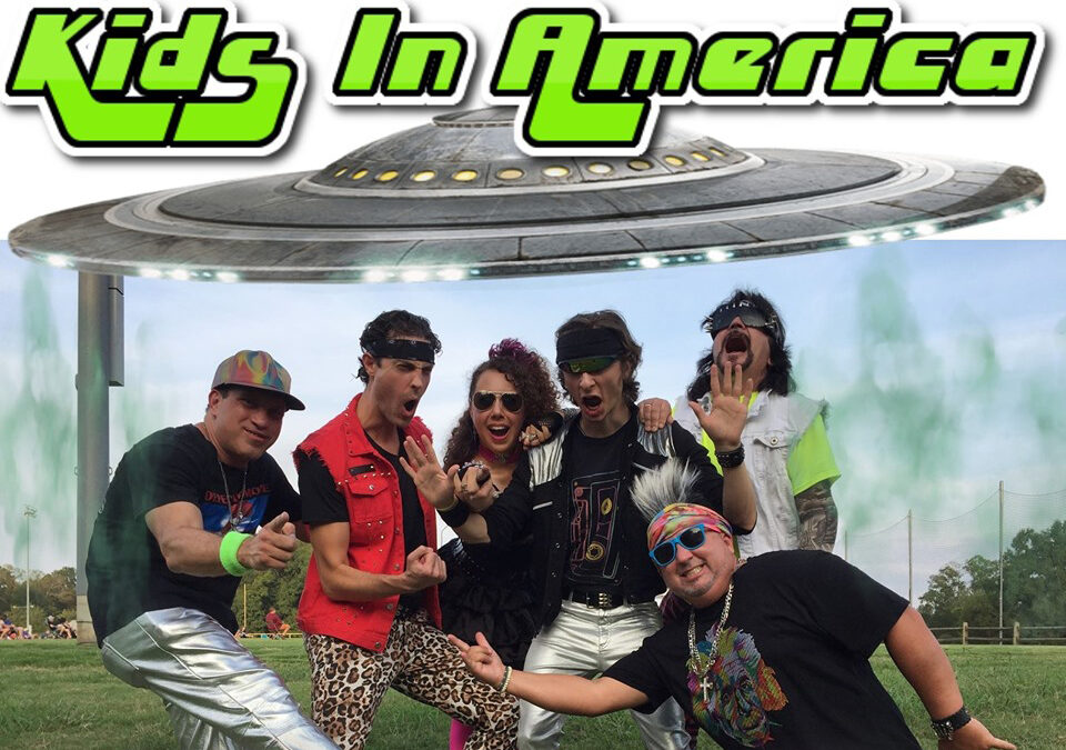 Kids in America – Totally '80s Tribute Band