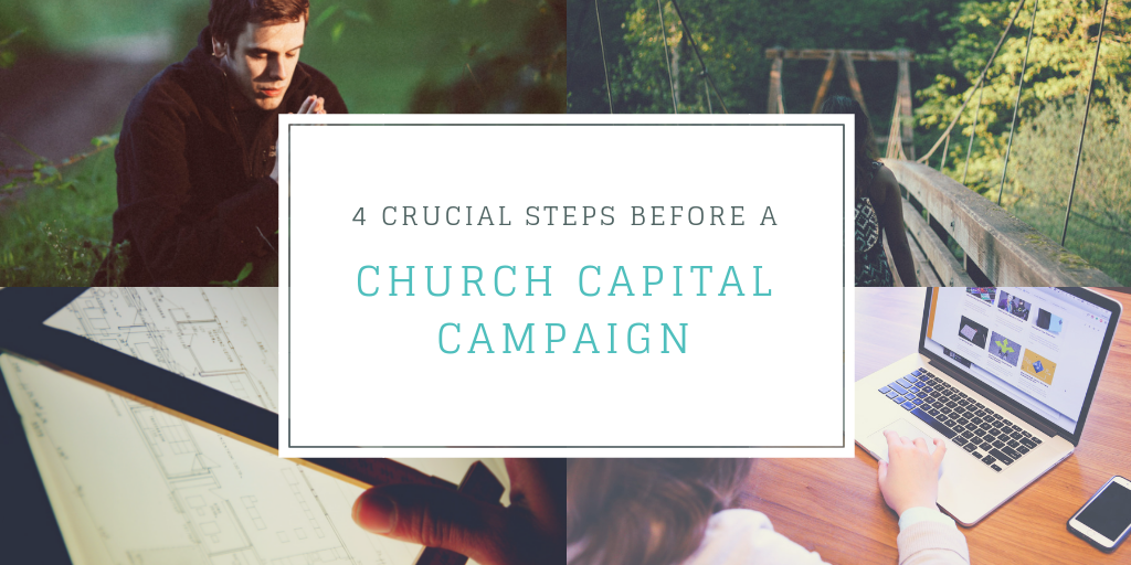 Steps Before a Church Capital Campaign