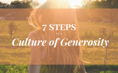 Create a Culture of Stewardship at Your Church