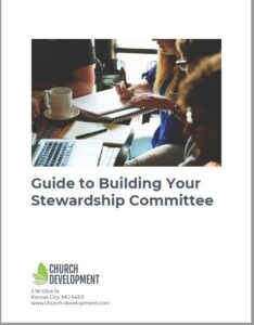 Build a church stewardship committee guide
