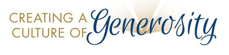 Culture of Generosity Capital Campaign Logo