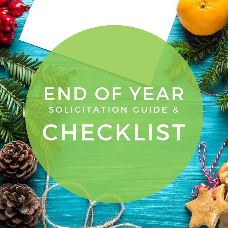 End of Year Church Appeal Checklist