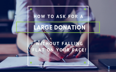 How to Ask for a Large Donation