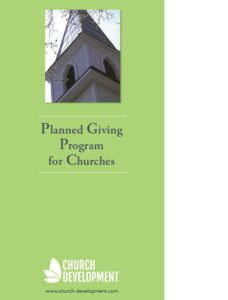 Planned Giving program church Manual guide