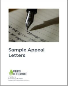 church stewardship campaign appeal letter samples