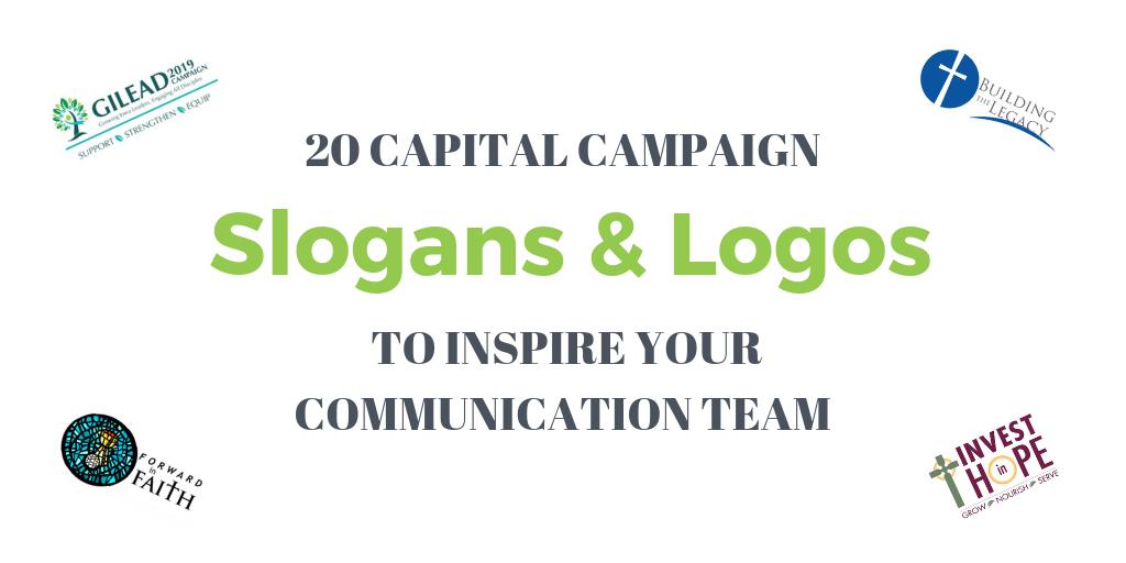 Church Capital Campaign Slogans and Logos