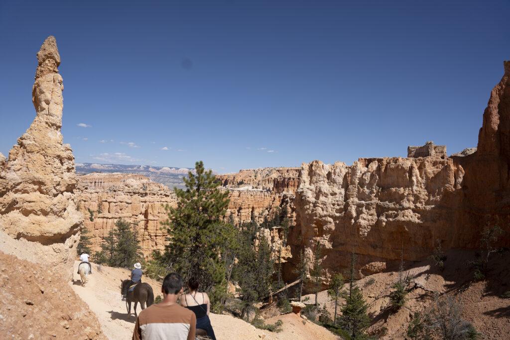 Bryce Canyon Horseback Images