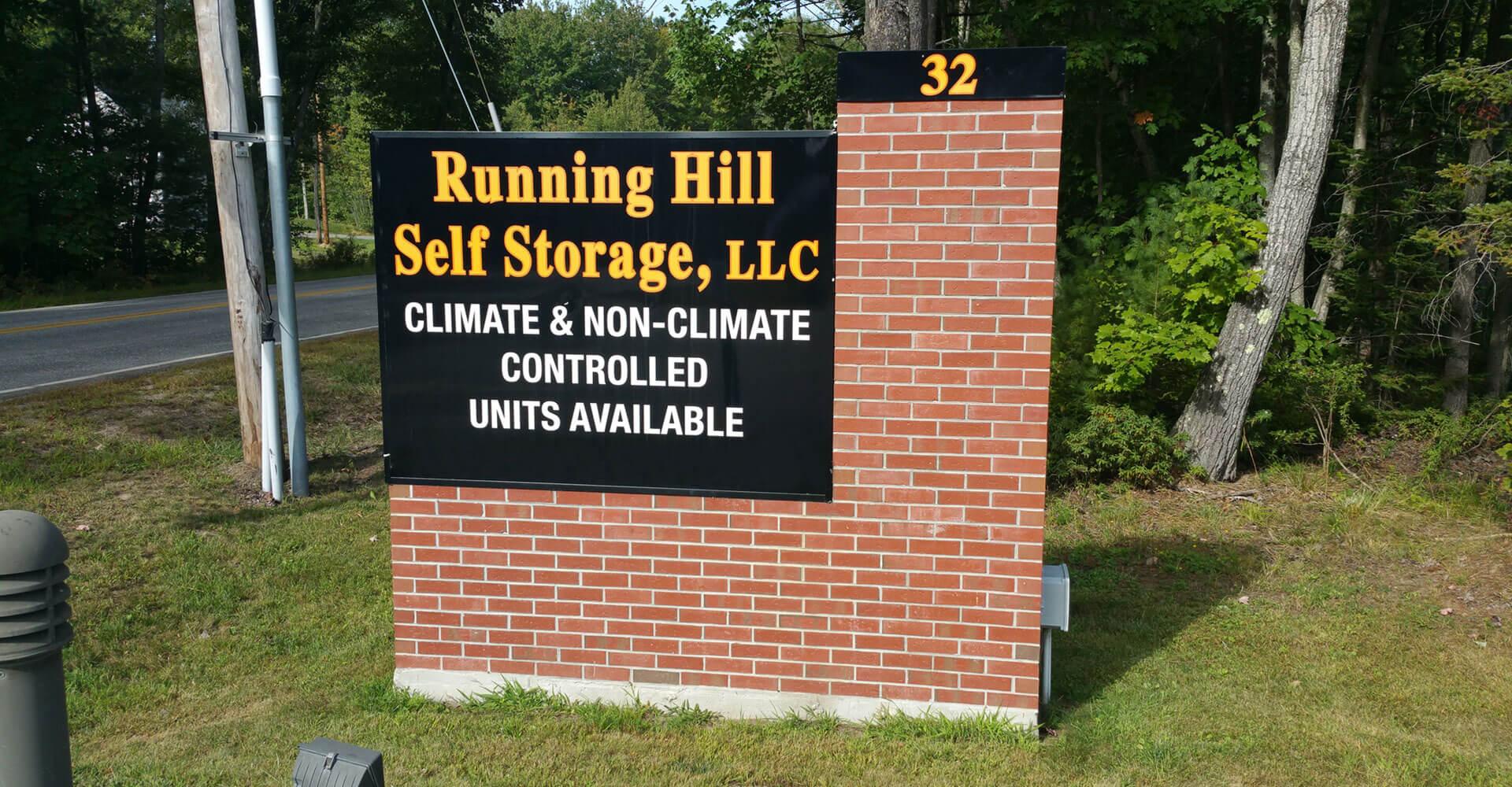 Running Hill Self Storage
