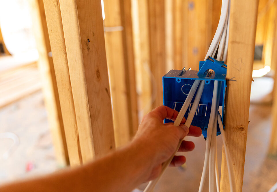 New Home Construction Electrical