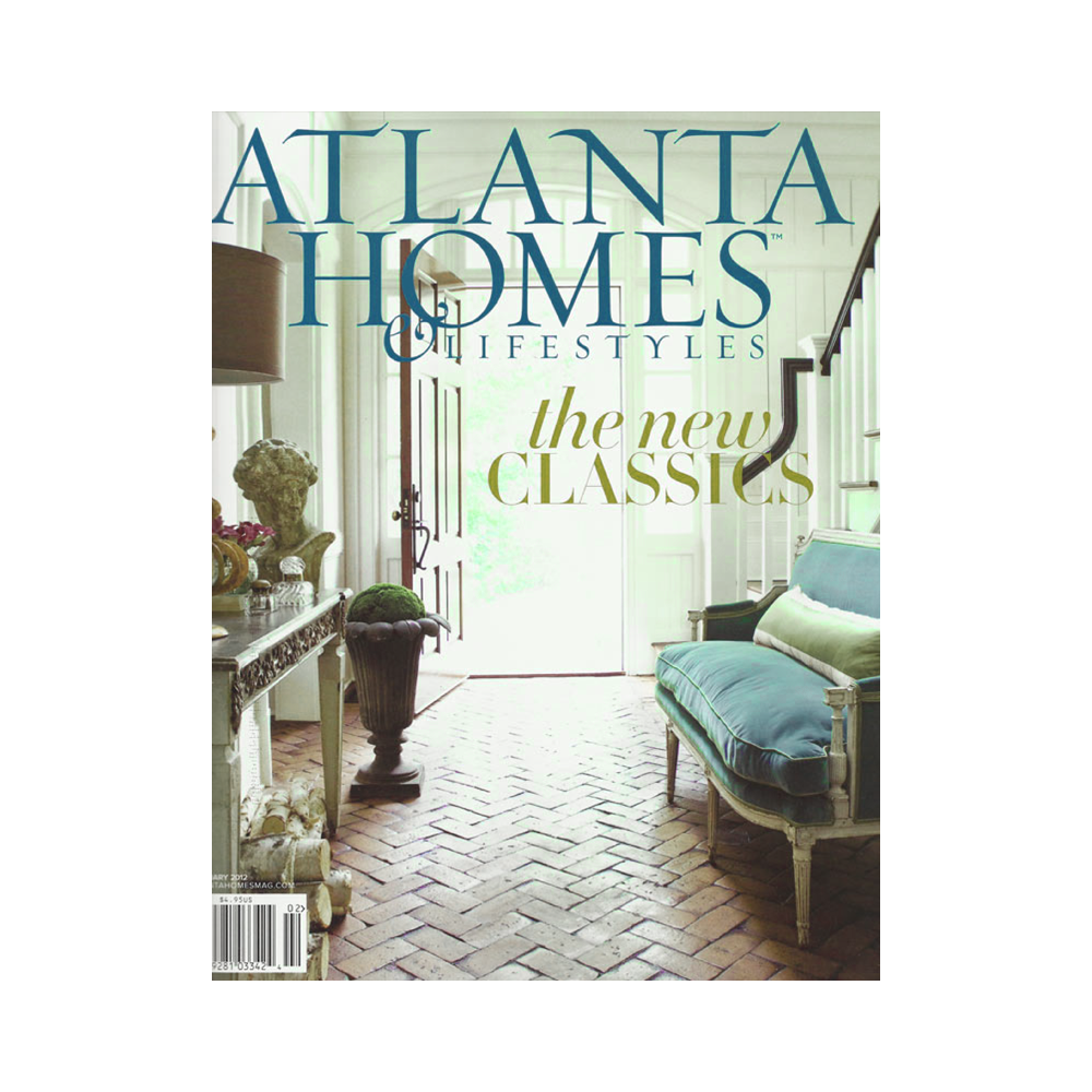 Magazine cover of Atlanta Homes and lifestyles