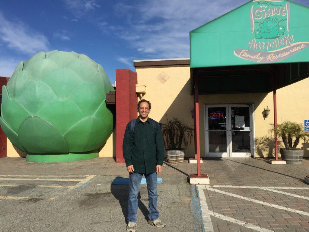 Matt Witten in the Artichoke Capital of the World