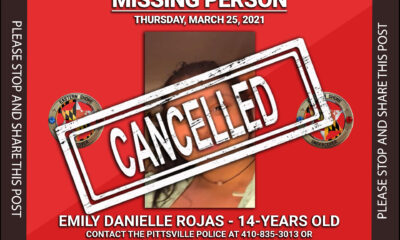 Missing Person - Emily Danielle Rojas