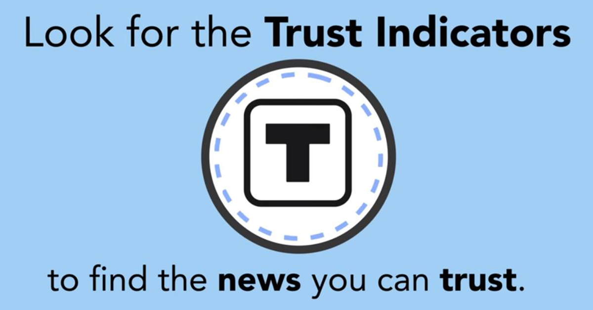 The BBC's James Reevell video on the Trust Project.