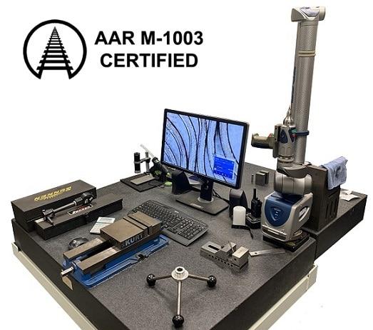 quality control laboratory aar m1003 certification