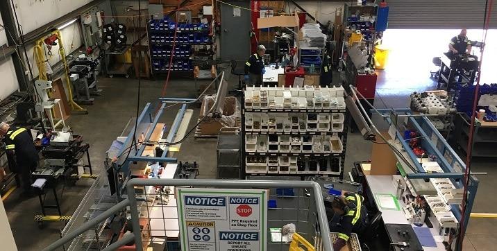 apex rail automation manufacturing facility
