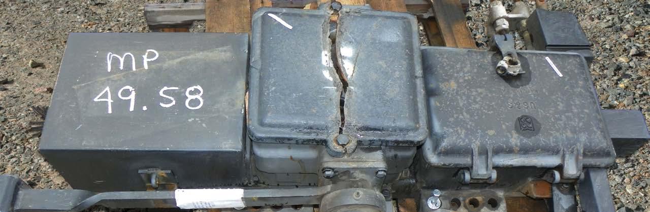 vsm-24 switch machine before re-manufacture