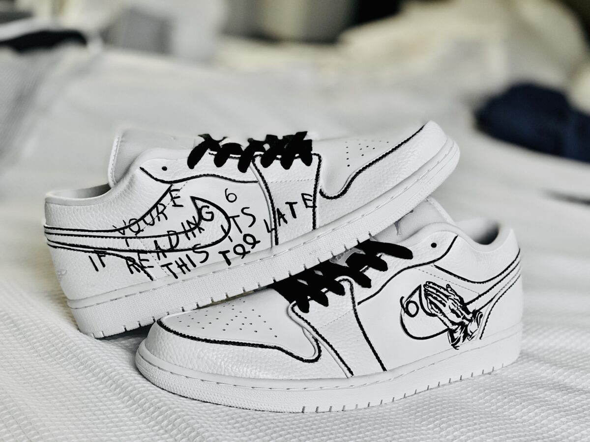"""""""if yOurE reAdiNg ThIs"""" AJ1 Lows"""