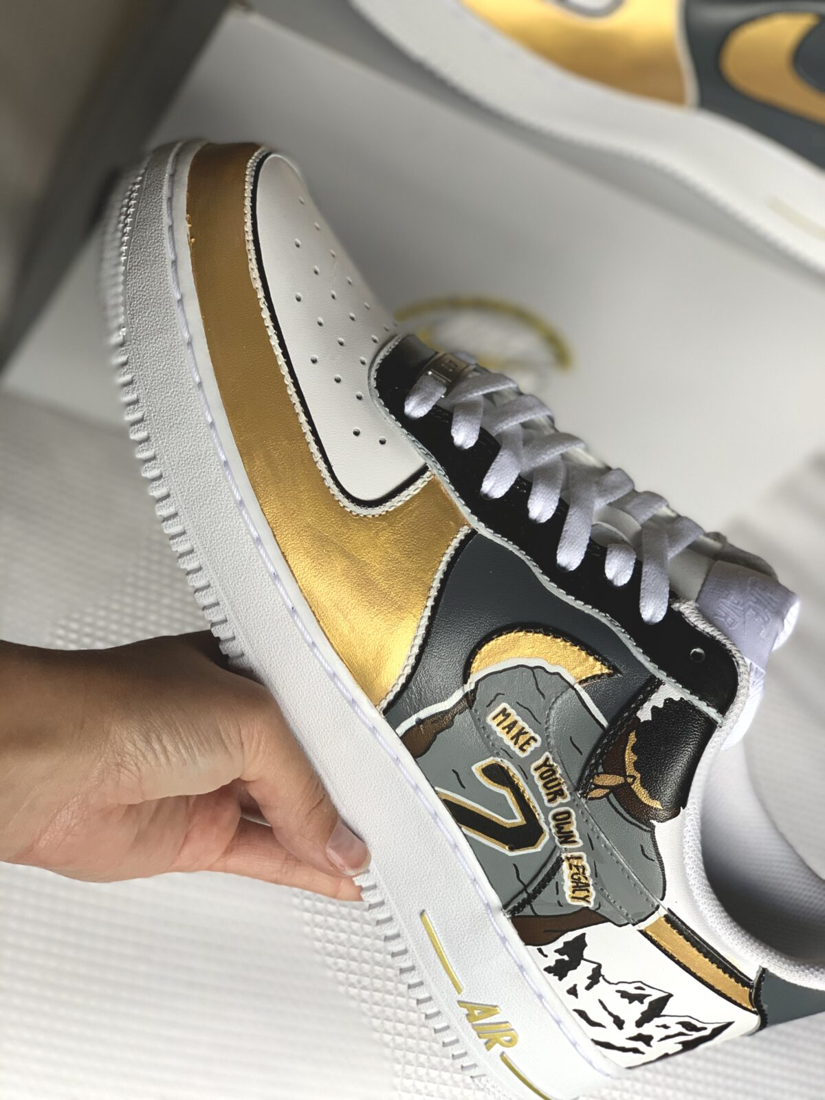 Make Your Own Legacy feat. on the B. Rice x Colorado AF1s