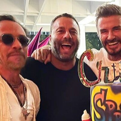 Marc Anthony y los Beckham