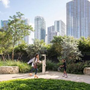 A 10-mile long park is set to spring up in Miami, in an unlikely place