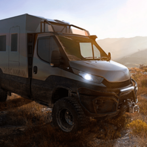 This New Camper Is an Off-Road Beast With a Luxe Interior Like a Scandinavian Hotel