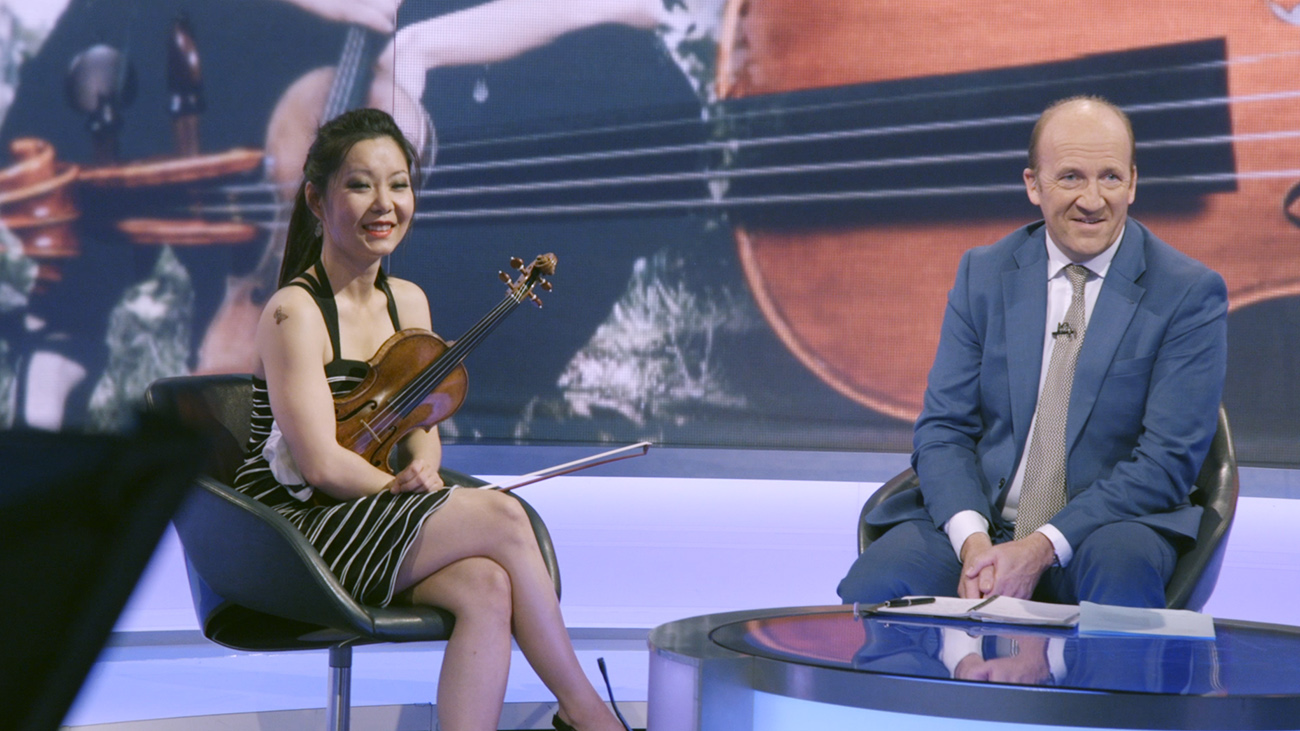 Yi-Jia Susanne Hou BBC World TV David Eades