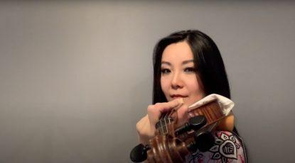 Yi-Jia Susanne Hou Paganini caprice education